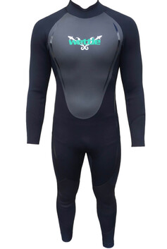 Wettie Steamer Suit Mens 3/2mm